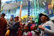 Splashdown to A New Year with North America's Largest Water Clock At The World's Largest Children's Museum