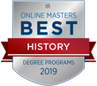 OnlineMasters.com Names Top Master's in History Programs for 2019