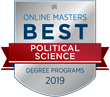 OnlineMasters.com Names Top Master's in Political Science Programs for 2019