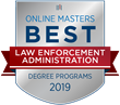 OnlineMasters.com Names Top Master's in Law Enforcement Administration Programs for 2019