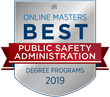 OnlineMasters.com Names Top Master's in Public Safety Administration Programs for 2019
