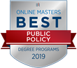 OnlineMasters.com Names Top Master's in Public Policy Programs for 2019