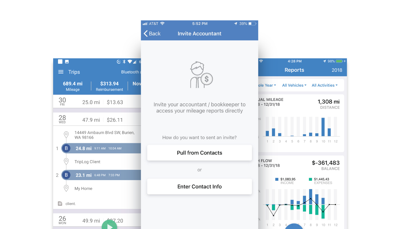 triplog launches brand new triplog for accountants on its mobile apps