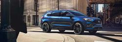 2019 Ford Edge exterior front fascia and passenger side