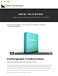 Developers at Pixel Film Studios Release ProParagraph Fundamentals for Final Cut Pro X