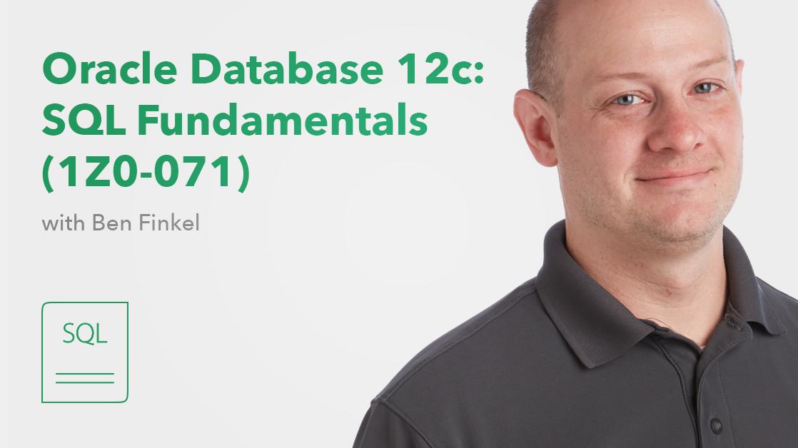 CBT Nuggets Announces Oracle Database 12c: SQL Fundamentals