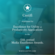 Castifi Chosen as a Finalist for 11th Annual Media Excellence Awards Show