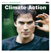 "Mediaplanet Launches the ""Climate Action"" Campaign in Partnership with UN Goodwill Environment Ambassador, Ian Somerhalder."