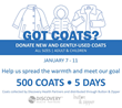 Discovery Health Partners Teams with Chicago-area Button and Zipper for Post-holiday Coat Drive January 7-11, 2019