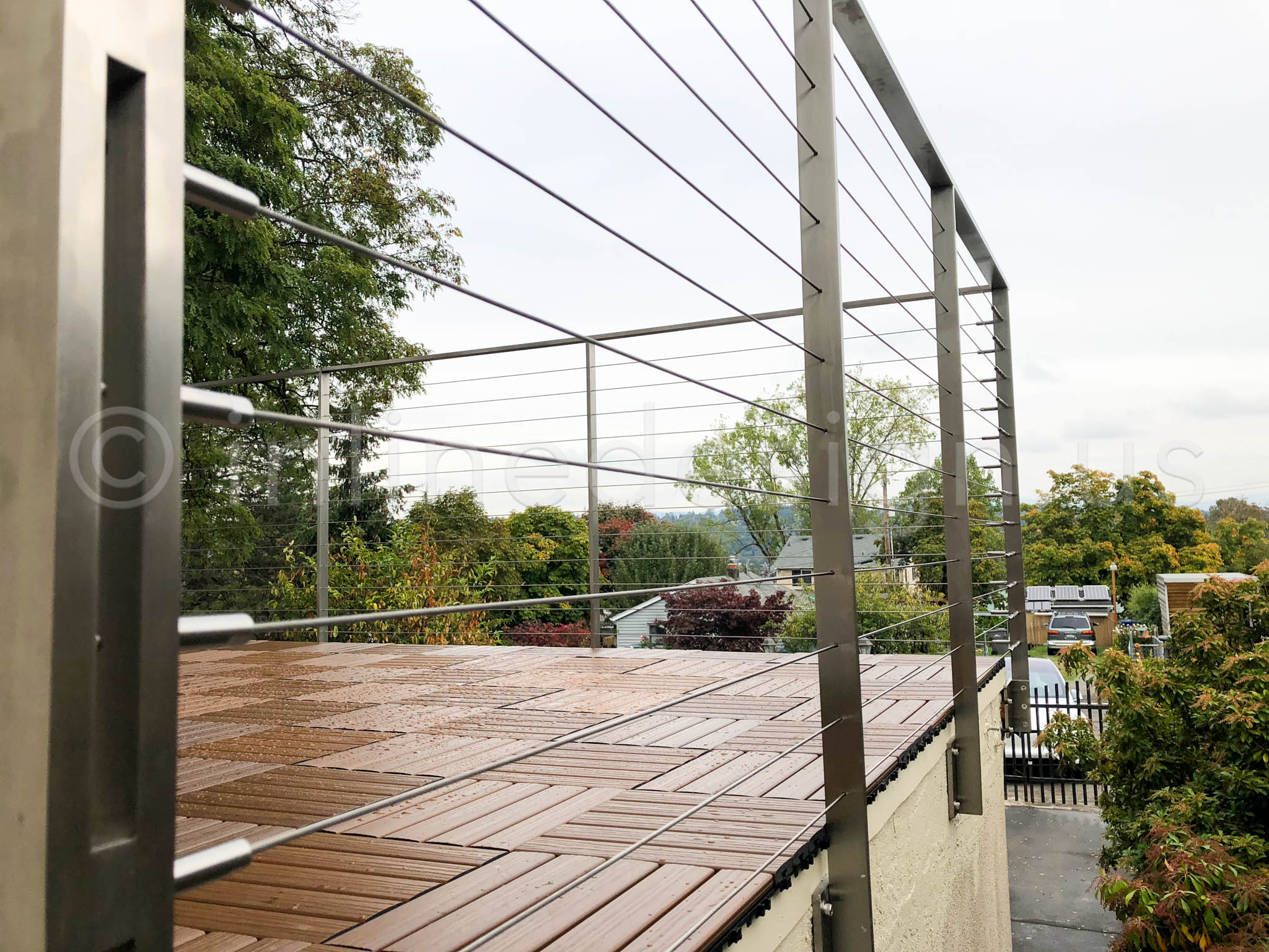 Inline Design Announces Arcadia Cable And Glass Railing System