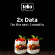 Limited time offer: Tello Mobile doubles the data for new customers