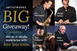 "ArtistWorks, Online Music Instruction Pioneer, Launches its ""Big Jazz Giveaway"" Contest"