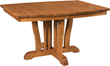 Brandenberry Offers the Commanding Grand Central Pedestal Table
