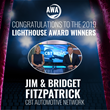 Brian Pasch to Announce Jim and Bridget Fitzpatrick as 2019 Lighthouse Award Recipient