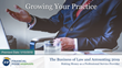 "Financial Poise™ Announces ""THE BUSINESS OF LAW & ACCOUNTING 2019"" a New Webinar Series Premiering January 15th at 1:00 PM CST through West LegalEdcenter"