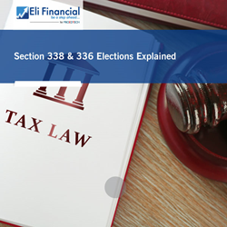 Section 338 & 336 Elections Explained: Live Webinar by Eli