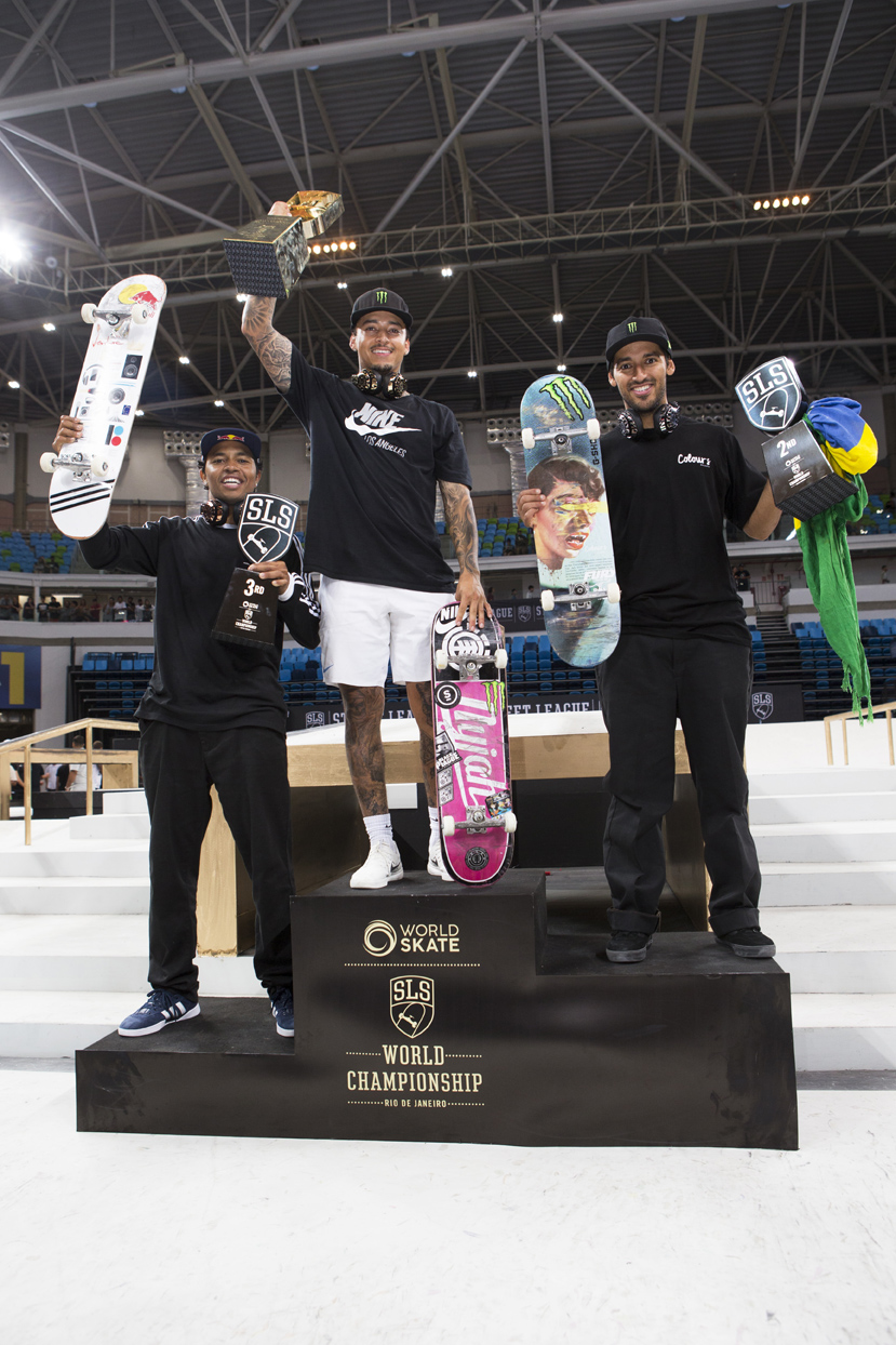 Monster Energy's Nyjah Huston Takes 1st Place at the 2018