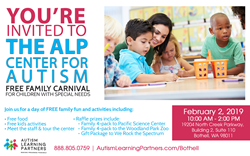 autism learning partners Bothell open house invitation