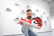 "Following Jason Dussault's Sold out ""KickBack"" Exhibit at SCOPE Art Fair Miami, he Will be Returning to Drop the Second Shoe in Los Angeles at the L.A. Art Show"