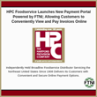 HPC Foodservice Launches New Payment Portal Powered by FTNI; Allowing Customers to Conveniently View and Pay Invoices Online