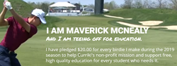 Maverick McNealy Birdies for Education #BirdiesforEducation @Curriki