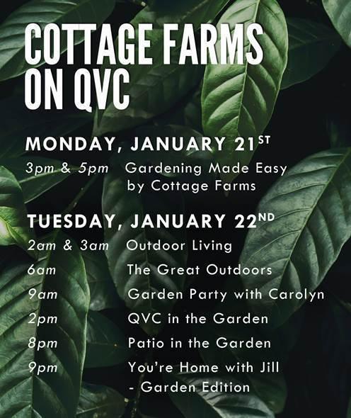 Cottage Farms Announces New QVC Guest Hosts