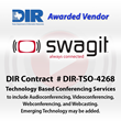 Swagit Productions, LLC Awarded Technology Based Conferencing Services Contract from the Texas Department of Information Resources (DIR)