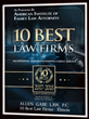 "Allen Gabe Law, P.C. Earns ""10 Best Law Firm"" Client Satisfaction Award for 2018"