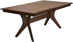 The Harper Trestle Dining Table From Weaver Furniture Is One Of Their Many Tables With Convenient Extending Butterfly Leaf Mechanism