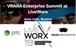 The VR/AR Association (VRARA) will Co-Locate the VRARA Enterprise Summit on June 10, 2019 at the PTC LiveWorx® Digital Transformation Conference in Boston