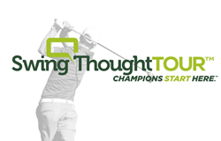 swingthought golfer logo