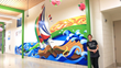 Mural Artist Chooses Vycom's Celtec® to Engage Students in Creating a Vibrant Mural to Raise School Spirit Using a Safer Material