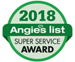 Universal Windows Direct of Indianapolis Named, the Angie's List 2018 Super Service Award Winner