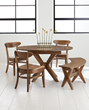 Brandenberry's Vadsco Table Set Merges Euro Style with Amish Construction