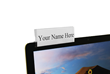 New Computer Name Plate Holder launched by Plastic Products Mfg. Delivers High Impact in Style, Fit, and Function