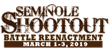 Seminole Shootout Battle Reenactment Set for March 1-3 in Immokalee, Will Feature Friday Night and Saturday Night Concerts