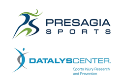 Presagia Sports and Datalys logos