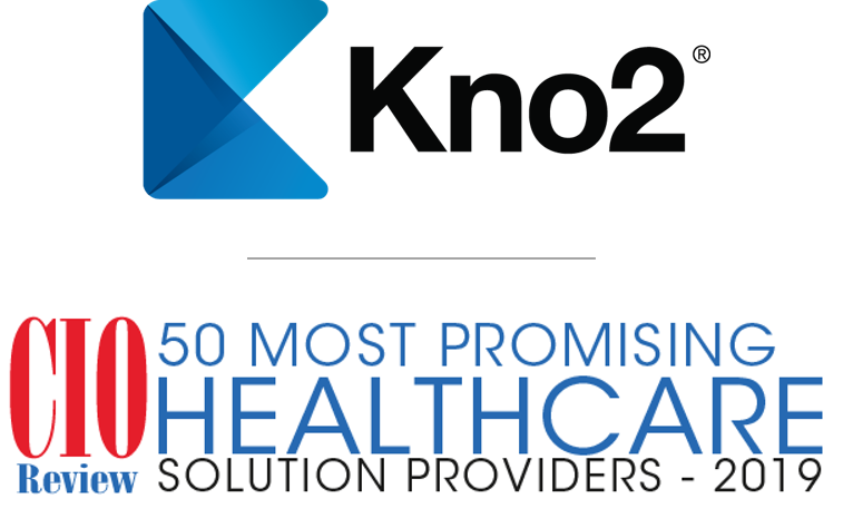 kno2 named to  u201c50 most promising healthcare solution