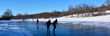 Iceskating on a Pond at Eagle Ridge Resort and Spa - Photo Credit Eagle Ridge Resort and Spa