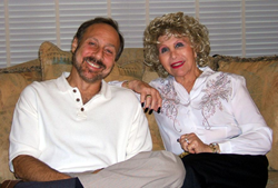 Author Steven Shulman with Uncle Gloria Stein