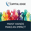 Capital Edge Launches New Initiative - Many Hands Make an Impact