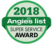 ServiceMaster Restoration and Cleaning, a member of RestorationMaster, Earns 2018 Angie's List Super Service Award