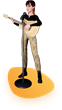 3D Character double from singer/songwriter Olivia Reid with guitar