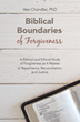 Author Examines Meaning of Forgiveness Through Biblical, Ethical Lens in New Book