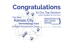 Dermatology and Skin Cancer Center physicians receive Top Doc recognition