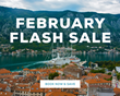 Windstar Cruises Announces February Flash Sale on More Than 80 Itineraries