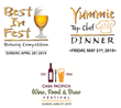 "Tickets On Sale Now for Casa Pacifica's Award Winning Angels Wine, Food & Brew Festival, Yummie Top Chef Dinner, and ""Best in Fest"" Brewery Competition"