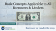 "Financial Poise™ Announces ""Basics Concepts Applicable to All Borrowers & Lenders,"" a New Webinar Premiering February 21th at 3:00 PM CST through West LegalEdcenter™"