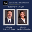 Attorneys Andrew Cores, Wendy Musielak Receive Super Lawyers Honors