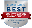 OnlineMasters.com Names Top Master's in Construction Management Programs for 2019